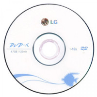 Диск DVD-R LG 4.7Gb 16x